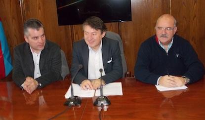 Santiago Macías, Samuel Folgueral y Emilio Cubelos / BierzoDiario