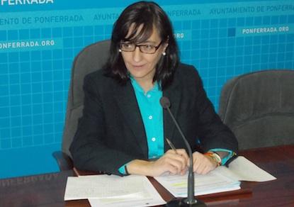 Amparo Vidal, concejala de Hacienda de Ponferrada / BierzoDiario