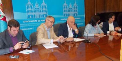 Iván Alonso, Olegario Ramón, Miguel Ángel Fernández, Amparo Vidal y Rosa Luna / BierzoDiario