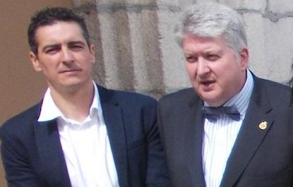 Roberto Mendo y Ricardo Miranda, el día de su toma de posesión / BierzoDiario