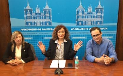 María Antonia Gancedo, Gloria Fernández Merayo y Álvaro Rajo / BierzoDiario
