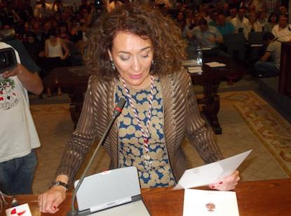 Toma de posesión de Gloria Merayo el 13 de junio de 2015 / BierzoDiario