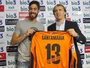 Santamaría vuelve a la Ponferradina para «ayudar en lo que pueda al equipo»