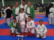 Dos clubes bercianos, clasificados para el nacional de karate