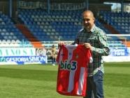 Una camiseta especial conmemora el décimo aniversario del primer ascenso a Segunda A de la Ponferradina