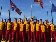 Seis jóvenes árbitros bercianos completan su formación en el Centro de Tecnificación
