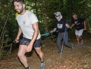 Tres equipos de personas ciegas compiten en el kilómetro vertical de Palacios del Sil