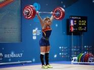 Lydia Valentín, elegida mejor levantadora mundial del 2018