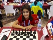 Noa Muñoz, primera española en el Mundial de Edades de ajedrez