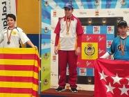 Héctor González, campeón de España infantil de arco compuesto