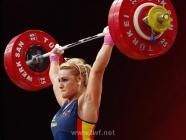 Lidia Valentín revalida su título de campeona de Europa de halterofilia