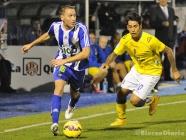 Los errores defensivos condenan a la Ponferradina frente al Las Palmas (4-2)