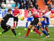 La afición estalla contra Manolo Díaz tras una nueva derrota en el Toralín (0-2)