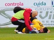 Santamaría, baja para el partido de la Ponferradina en Valladolid
