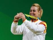 Lydia Valentín a las puertas de la plata en los Olímpicos de Pekín 2008