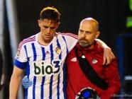 Raíllo se recupera pero es duda para el partido de Tenerife