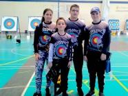 Tres oros para los arqueros bercianos en el campeonato autonómico