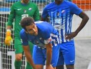 La Ponferradina, empatada con el colista tras otra derrota que agrava su crisis (2-3)